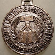 7.156 GERMANIA RDG DDR MEDALIE 16mm, Europa