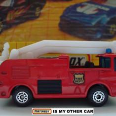 MATCHBOX- SNORKEL FIRE ENGINE- ++2000 DE LICITATII !! - Macheta auto