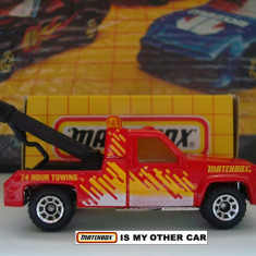 MATCHBOX- GMC TOW TRUCK-++2000 DE LICITATII !! - Macheta auto Matchbox, 1:64