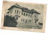 carte postala(ilustrata)-SIBIU-SALISTE-Casa nationala anul 1935