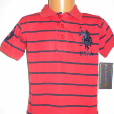 Tricou original US Polo Assn baieti 3 ani
