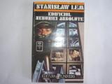 STANISLAW LEM - EDIFICIUL NEBUNIEI ABSOLUTE,r13,RF13/1