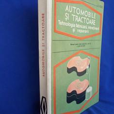 M.CONSTANTINESCU - AUTOMOBILE SI TRACTOARE - 1976, M. Constantinescu