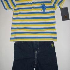 Set US Polo Assn Original - baieti 18 luni