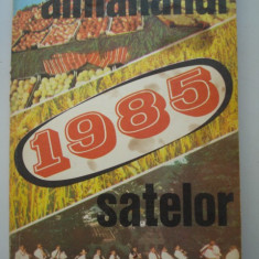 ALMANAHUL SATELOR - !985