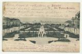 TURNU SEVERIN : PIATA TUDOR VLADIMIRESCU - U.P.U.,circulata 1901,timbru, Fotografie