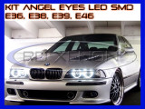 KIT INELE ANGEL EYES - 84 LED SMD 3528 - BMW E36, E38, E39, E46 - CULOARE 6000K, Universal, ZDM