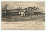 TURNU SEVERIN : GARA - U.P.U., circulata 1900,timbru