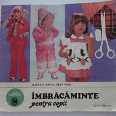 Imbracaminte pentru copii - Natalia Tautu-Stanescu - Carte personalizata