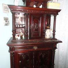 Mobila sculptata veche de peste 100 an, Seturi, Necunoscut, 1800 - 1899