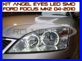 KIT INELE ANGEL EYE EYES CU LED SMD - FORD FOCUS MK2 2004-2010, Universal, ZDM