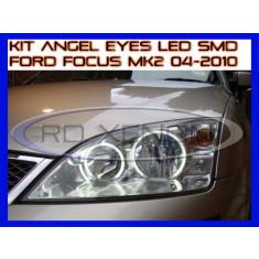 KIT INELE ANGEL EYE EYES CU LED SMD - FORD FOCUS MK2 2004-2010