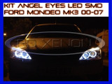 KIT INELE ANGEL EYE EYES CU LED SMD - FORD MONDEO MK3 2000-2007, Universal, ZDM