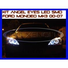 KIT INELE ANGEL EYE EYES CU LED SMD - FORD MONDEO MK3 2000-2007