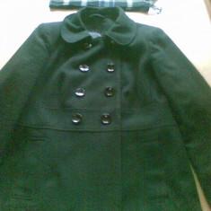 Jacheta geaca palton scurt toamna iarna culoare negru dama femei marimea 42 L - Jacheta dama, Poliester
