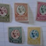 Timbre Luxemburg 1928 serie Caritas MNH cota 14 euro