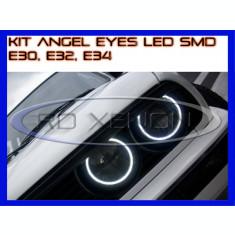 KIT INELE ANGEL EYE EYES CU 66 LED SMD - BMW E30, E32, E34