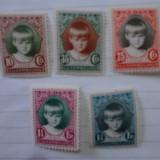 Timbre Luxemburg 1929 serie Caritas MNH cota 25 euro