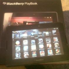 Blackberry Playbook 32GB [cu app instalate in valoare de peste 100 EUR] - Tableta Blackberry, 7 inch, Wi-Fi