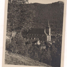 carte postala(ilustrata)-BRASOV -Biserica neagra anul 1936