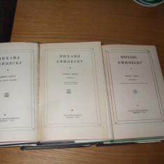 MIHAI  EMINESCU  * OPERE ALESE  --  4 volume --  [ editat in lima rusa, 1971 ], Alta editura