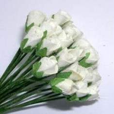 72 trandafiri hartie - invitatii/ marturii/ decor nunta sau botez