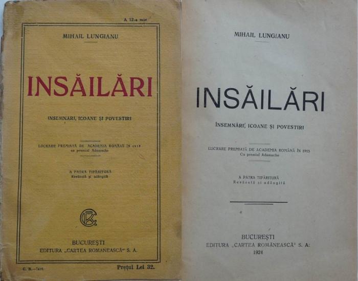 Mihail Lungianu , Insailari , insemnari , icoane si povestiri , 1924 foto mare