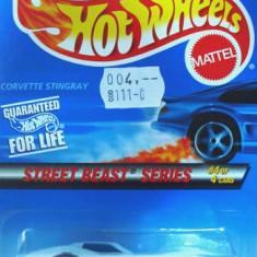 HOT WHEELS -CHEVY CORVETTE STINGRAY-+ - Macheta auto Hot Wheels, 1:64