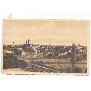 carte postala(ilustrata)-SIBIU anul 1939