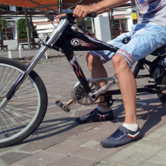 Vand bicicleta.. - Mountain Bike Nespecificat, V-brake, Otel, Baieti, Drept(Flatbar)