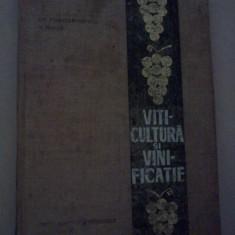 Viticultura si vinificatie - Gherasim Constantinescu, Vasile Juncu - Carti Agronomie