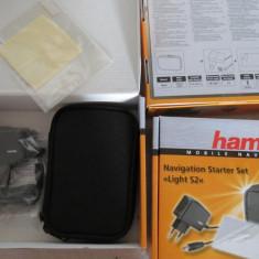 1127plu Navigation Starter Set Light S2 Hama compus din husa gps dimeniuni interioare 13x8x2.5cm incarcator ac 5v max 1a cu mini usb folie protectie 1