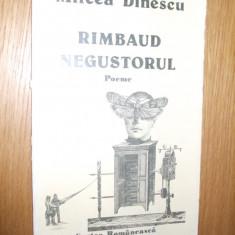 MIRCEA DINESCU -- Rimbaud Negustorul -- [ 1985, 46 p. ] - Carte poezie