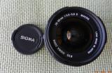 Sigma 28-80 F/3.5-5.6 MINI Autofocus ZOOM MACRO- pentru PENTAX AF, Tele