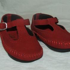 Pantofi copii - nr 17, Culoare: Rosu, Fete, Rosu