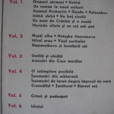 DOSTOIEVSKI - OPERE, Volumul 2,r41, F.M. Dostoievski