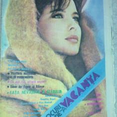 Revista jocuri de-a vacanta iulie 1986 - Revista casa