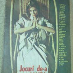 Revista jocuri de-a vacanta iunie 1989 - Revista casa