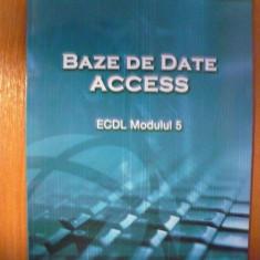 ECDL Modulul 5 - Baze de date Access - Carte Microsoft Office
