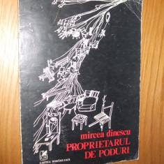 MIRCEA DINESCU -- Propietarul de Poduri -- [ 1978, 77 p. ] - Carte poezie