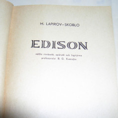 M. LAPIROV-SKOBLO - EDISON, Alta editura