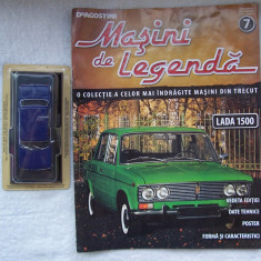 Revista Deagostini (Masini de colectie) + Macheta Lada 1500 (sigilata) 1/43 !