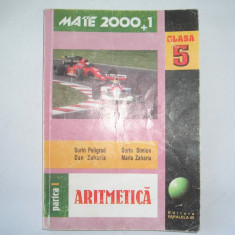 Aritmetica/algebra/geometrie, clasa a V-a, partea a I-a - Manual scolar paralela 45, Clasa 5, Paralela 45