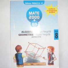 Algebra/geometrie, clasa a VIII-a, partea a II-a - Manual scolar paralela 45, Clasa 5, Paralela 45