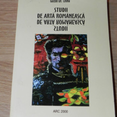 GASTON GH COSMA - STUDII DE ARTA ROMANEASCA - Album Pictura