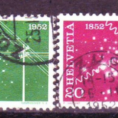 1952 elvetia 566-569 stampilate - Timbre straine