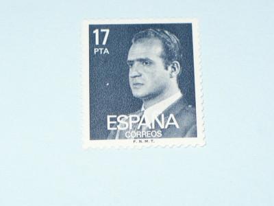 TIMBRU SPANIA -  JUAN CARLOS I foto