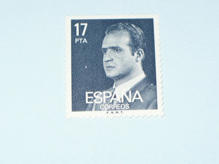 TIMBRU SPANIA -  JUAN CARLOS I