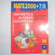 Aritmetica/algebra/geometrie, clasa a V-a, partea a II-a - Manual scolar paralela 45, Clasa 5, Paralela 45