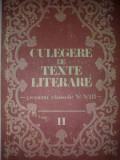 Culegere de texte literare pentru clasele V-VIII V. 2 - Vasile Teodorescu